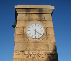 Major Mitchell Memorial Clock