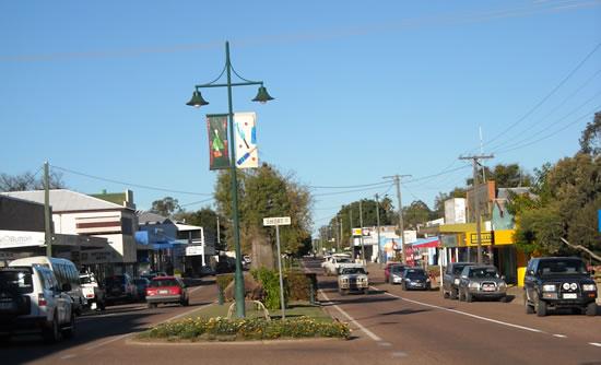 Blackall main street